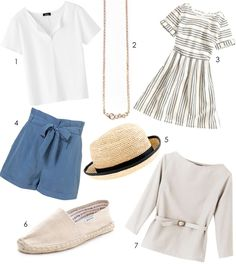 13 Paris summer fashion essentials... also applies to the Willamette Valley :)