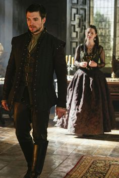 Reign, season 4, episode 7, Hanging swords. James and Queen Mary.
