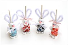Tootsie Pops Easter Bunny Craft