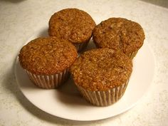 Banana Flax Muffins: use chai seeds instead of wheat germ yum