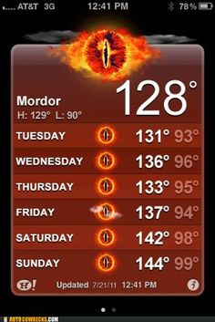 Very Funny lol XD BUT in the book, Tolkien describes Mordor as 'cold' Into The West, Into The Fire, Image Triste, Excuse Moi, Caption Contest, One Does Not Simply, Image Of The Day, Humor Grafico, College Humor