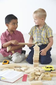 how to help children sharing in child care