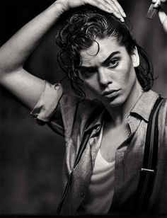 Steffy Argelich by Peter Lindbergh for Vogue Italia May 2015 tataice.com
