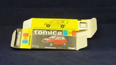 TOMICA 054C HONDA CITY | 1/57 | ORIGINAL BOX ONLY | 1981-1983 JAPAN (A