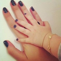 Mommy and daughter mani pedi