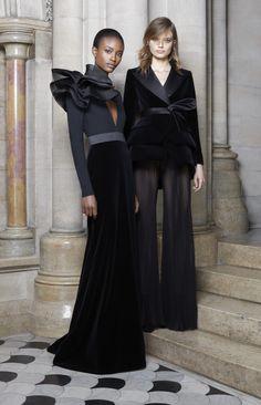 Ashi Studio Parigi - Haute Couture Fall Winter - Shows - Vogue. Ashi Studio, Velvet Fashion, Occasion Wear, Evening Dresses, Ready To Wear, Fashion Dresses, Fashion Looks, Glamour, Costume