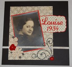 Grandma Louise and a Make Your Own Glue Dot tutorial