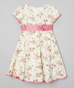 Love this Fuchsia Floral Dress - Infant & Toddler on #zulily! #zulilyfinds