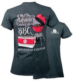 Backyard BBQ - Adult T-Shirt