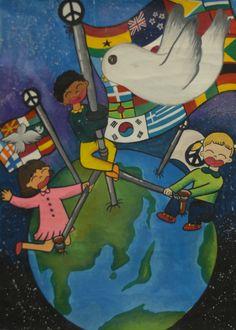 Finalist from Korea: Lions Clubs International 2012-2013 Peace Poster Contest