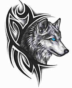 рисунок волк - Поиск в Google