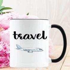 Excited to share the latest addition to my #etsy shop: Travel Mug, Coffee Mug Gift, Fun Coffee Mug, Travel Airplane Mug, Find Your Verb Collection #housewares #travelairplanemug #ceramic #funcoffeemug #coffeemuggift #personalizedmug #personalizedgift #airplanemug https://etsy.me/2Iv2st3