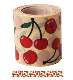 Hey, I found this really awesome Etsy listing at https://www.etsy.com/listing/192353506/cherry-washi-tape-wide-washi-tape-deco