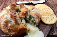 Pesto baked brie is fast, easy, elegant and delicious. Seriously, what else could you want from an appetizer recipe?