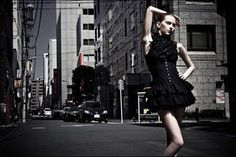 Street Fashion Model Photography
