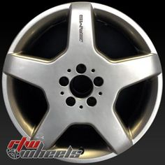 """Mercedes CL500 wheels for sale 2003-2004. 18"""" Silver rims 85317 - http://www.rtwwheels.com/store/shop/18-mercedes-cl500-wheels-oem-silver-85317/"""