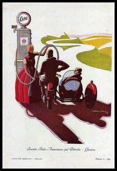 1930 Italian ESSO Fuel by bullittmcqueen on Flickr.1930 Italian ESSO Fuel