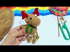 RENO CASCABELERO A CROCHET PASO A PASO - YouTube Mickey Mouse, Hello Kitty, Reno, Youtube, Crochet Necklace, Christmas Ornaments, Holiday Decor, Key Chains, Christmas Jewelry