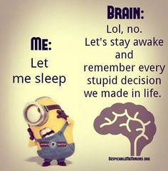 Funny minion quotes insomnia images