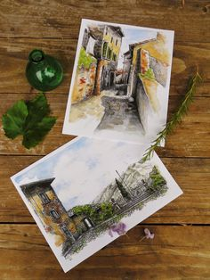 TWO print SPECIAL. $35.00, via Etsy.    dreaming of italy    left behind at the Mercantile Muse link party    http://batesmercantileco.blogspot.com/2012/10/a-welcome-fall-party.html