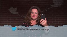 Melissa McCarthy from Celebrity Mean Tweets From Jimmy Kimmel Live!