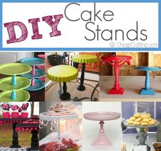 #Cheap #DIY Cake Stands for Parties & Other Occasions