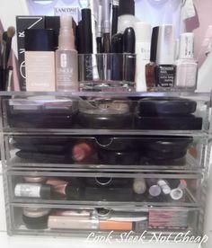 Muji Drawers for my make up organisation