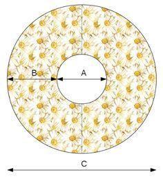 Hoe maak je een cirkelrok? De afmetingen bereken doe je zo