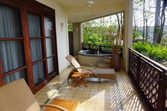 Arenas del Mar. Our Balcony. Costa Rica.