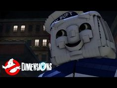 LEGO Dimensions A Spook Central Adventure All Cut Scenes & Ending (Ghostbusters Level Pack) - YouTube