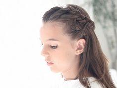 recogido sencillo con trenzas peinados peinado sencillos trenzas trenza recogido