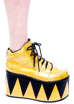 Y.R.U. Qozmopolitan Platform Shoes   Dolls Kill