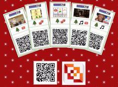 QR codes voor Kerst, gratis downloads voor kinderen en onderwijs! Science Tutor, Christmas Time, Xmas, Our Code, 21st Century Skills, Ipad Tablet, Coding, App, Projects