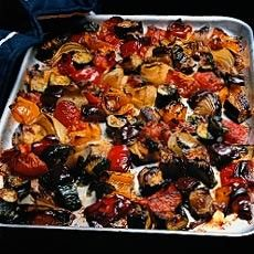 Oven-roasted Ratatouille - French - Recipes - from Delia Online