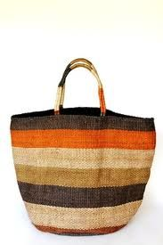 A gorgeous functional tote for those who appreciate natural fibres and handcrafted work. Our striped jute totes have been handwoven by women working within a Fair Trade program in Bangladesh. Jute Tote Bags, Striped Tote Bags, Reusable Tote Bags, Art Bag, Boho Bags, Basket Bag, Large Bags, Bag Accessories, Straw Bag