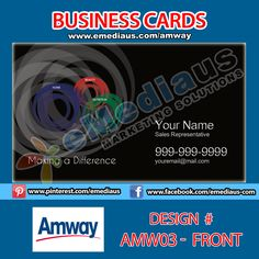 Gallery For Amway Ibo Business Cards