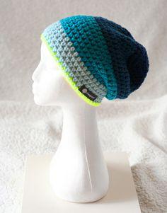 Häkel-Mütze ♥ Beanie ♥ Größe S - ca. 50-53 cm von Schneggenstoff auf DaWanda.com