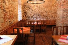 Big range of beers from Slovak to international ones and good kitchen for reasonable prices. Sladovna is usually a packed place, especially during the summe Bratislava, Cool Kitchens, Conference Room, Beer, Table, House, Furniture, Home Decor, Root Beer