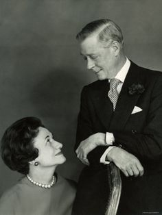 The Duke and the Duchess of Windsor by Cecil Beaton