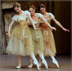 Sofiaz Choice: Bolshoi's Giselle . such a beautiful ballet . these costumes give the effect that they're a living painting Bolshoi Ballet, Ballet Tutu, Ballet Dancers, Ballet Shoes, Tutu Costumes, Ballet Costumes, Royal Ballet, Ballet Vintage, Day Of Dead