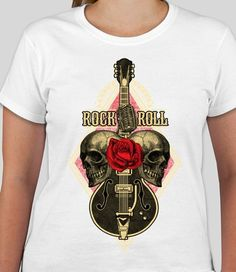 rock n roll shirt rock and roll tees rock n roll shirt classic   Etsy fe0413ffc27
