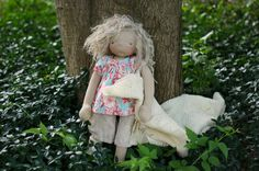 Amelie, a natural handmade doll by Fig.