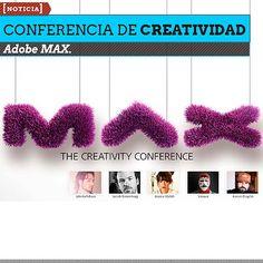 Conferencia de Creatividad. Adobe MAX. El evento explora las ideas, inspiraciones y tecnologías que traspasan las fronteras del pensamiento creativo.  Leer más: http://www.colectivobicicleta.com/2013/04/conferencia-de-creatividad-adobe-max.html#ixzz2RR1wlByU