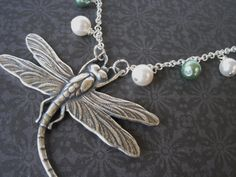 I had a beautiful dragonfly necklace once....I gotta get a new one, soon
