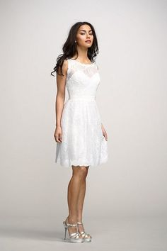 6 Short Wedding Dresses With Sleeves: Let's Help This Bride Pick Her Wedding Dress!