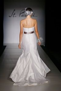 Bridal Gowns and Wedding Dresses by St. Pucchi. This dress is currently available at the West Hollywood salon. Style #536