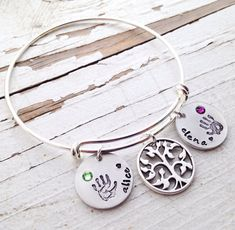 Personalized Alex and Ani bracelets