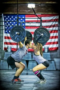 The Best Pics Of Fitness Couples & Bodybuilding Couples: People without a workout partner beware! We've collected some of the best pics of fitness couples living and lifting together. Crossfit Couple, Gym Couple, Crossfit Baby, Couple Goals, Bodybuilder, Corps Fitness, Fitness Motivation, Morning Motivation, Daily Motivation