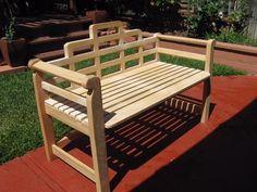 Garden Bench built by Gerald S.