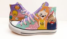 Cosmos and Crayons Converse